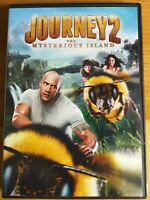 Journey 2: The Mysterious Island (DVD, 2012, Canadian French) Movie Film Flick !