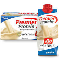 Premier Protein High Protein Shake, Vanilla (11 fl. oz., 12 pack)