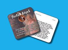"""""""Pocket Angel"""" Poem  / 1 Guardian Angel Coin / Carded Genuine US Penny - sku 589"""