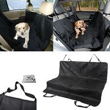 Large Pet Cat Dog Oxford Back Car Seat Cover Hammock Protector Mat Travel Black