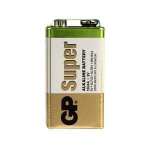 2 x GP Batteries GPPVA9VAS004 PP3 9V Alkaline Battery