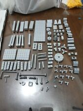 Non-Lego LOT of Bricks - Light Gray Color 114 pieces - Check Below