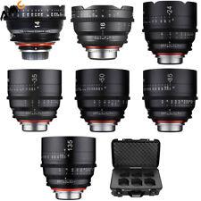 Samyang Xeen 14, 16, 24, 35, 50, 85, 135mm Cine 7 Lens Bundle