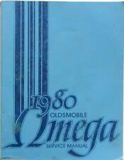 1980 OLDSMOBILE OMEGA SERVICE MANUAL