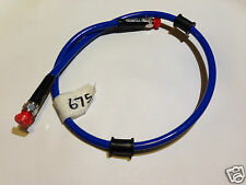 Venhill 675mm Blue Stainless steel braided Powerhose Plus brake lines