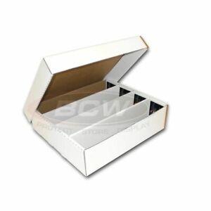 BCW 3200 Count Cardboard Baseball Trading Card Storage Monster Box