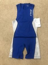 2Xu Elite Trisuit Men Blue/Blue Size Small