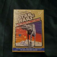 Star Wars The Empire Strikes Back Video Game 6050 GOLD BOX INTELLIVISION TANDY