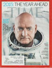 SCOTT KELLY Nasa Astronaut SIGNED TIME Magazine