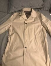 HUGO BOSS AUTHENTIC DESIGNER MEN WINTER COAT JACKET XL CREAM PERFECT CONDITION