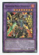 Gladiator Beast Heraklinos LCGX-EN253 Super Rare Yu-Gi-Oh Card (U)