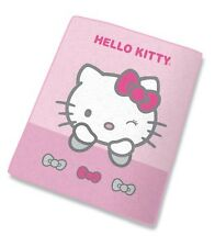 Hello Kitty Couverture polaire doudou dormir 100 x 130 cm