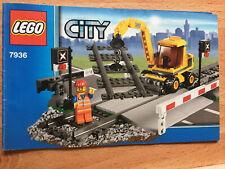 Lego Railway TRAIN 7936 Instructions Level Crossing
