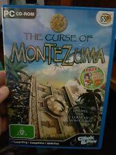 The Curse of Montezuma - PC GAME - FREE POST