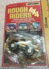 VINTAGE 1983 MATCHBOX ROUGH RIDERS 4X4 NO. 6266 TOYOTA PICKUP NRFP SEALED HTF