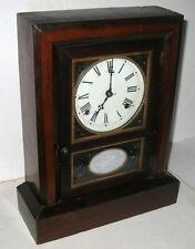 Jerome Cottage Clock, Has Gutta Percha Insert, Needs Attention