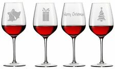 12 Wine Champagne Beer glass vinyl sticker decal Silver CHRISTMAS PARTY Xmas DIY