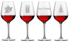 12 Vino Champagne Cerveza Vidrio pegatina de vinilo calcomanía Plata Fiesta de Navidad Navidad hágalo usted mismo