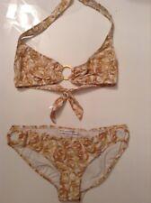 Bnwtt 100% Auténtico Diane Von Furstenberg Sexy Bikini. M RRP £ 220.00