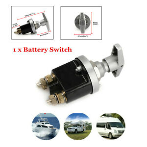 1500A Battery Isolator Disconnect Cut Off Power Kill Switch Safe Boat Car Truck