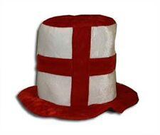 England Funhat Zylinder Hut Fan Unigröße neu WM Three Lions 2018