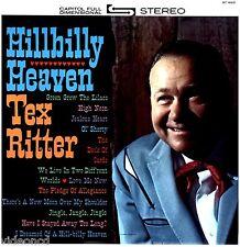 TEX RITTER Hillbilly Heaven CAPITOL ST 1623 STEREO SEALED VINYL 33 1/3 LP RECORD