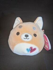 "Squishmallow 5"" Angie the Dog 💕 NEW 2021 Valentines Kellytoys"