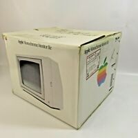 Vintage Apple Computer EMPTY BOX Monochrome Monitor IIe Original 14x17 Decor