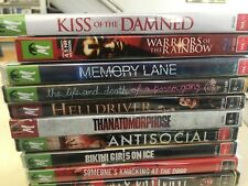 Monster Pictures Bulk Lot 1 *Kiss of the Damned, Warriors of the Rainbow & More!