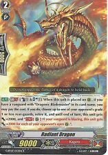 CARDFIGHT VANGUARD CARD: RADIANT DRAGON - G-BT07/033EN R RARE