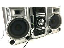 Sony MHC-EC55 Mini HiFi AUX FM AM CD MP3 Radio Stereo Boombox System+Speakers
