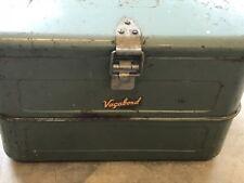 Vintage Vagabond by Hemp & Co. Retro Metal Ice Chest Cooler