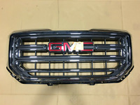 NEW GMC Sierra 1500 Grille w/ Chrome Border and Insert for 2016-2018 NO EMBLEM