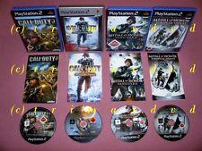 4x ps2 _ Call of Duty 3 & Call of Duty World at War & Vanguard & European Assault
