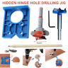 35mm for Cabinet Hinge Jig Drilling Wood Hole Saw Drill Locator Guide Tools Set