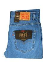 Levi's Mens 501 Straight Jeans