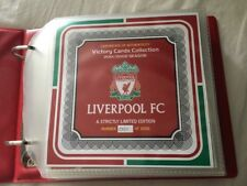 LIVERPOOL FC VICTORY CARDS - Official LFC Victory Card Collection 2001/2 Season