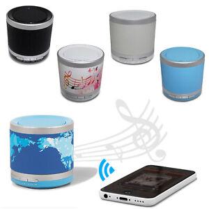 Mini Bluetooth Lautsprecher Speaker Tragbar Musikbox Soundstation Handy MP3 Akku