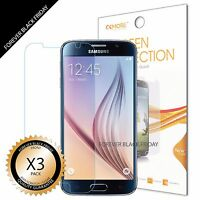 3x Anti-Scratch HD Clear Screen Protector Shield Guard For Samsung Galaxy S6