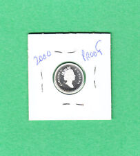 2000 Canadian 10 Cent Silver Dime From the Proof Set