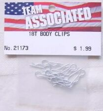 Associated RC18T Body Clips (12 pcs)