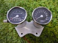Cafe racer, bobber small Speedometer & Tachometer. Dime city cycles