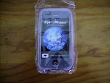 IPHONE 3 CLEAR FROST SILICONE SOFT SKIN CASE COVER