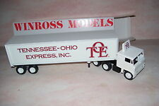 TOE Tennessee Express Inc. Winross Diecast Delivery Trailer Truck