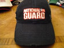 NASCAR Dale Jr. National Guard #88 Worn Look Chase Authentics hat100-210