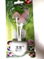 Mushroom night light HALF FREE MOREL 50000 HR LED lamp AUTO LIGHT SENSOR