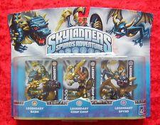 Legendary Bash Chop Spyro Skylanders Triple Pack, 3 Skylander Figuren, OVP-Neu