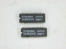 """TA8611AN  """"Original"""" Toshiba   20P DIP IC  2 pcs"""