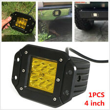 4inch Flush Mount 24W Car SUV LED Work Light Pods Combo Driving Fog Lamp 12V 24V