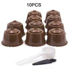 10x Filtre réutilisable de capsule de café réutilisable pour Nescafé Dolce Gusto